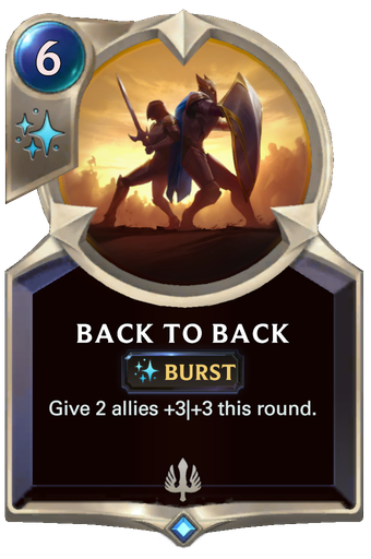 Back to Back Card Image