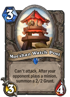 Mor'shan Watch Post Card Image