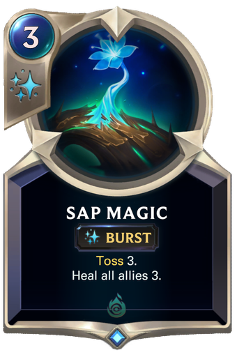 Sap Magic Card Image