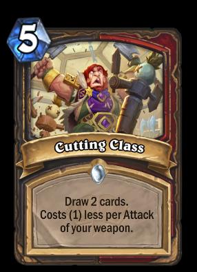 Cutting Class Card Image