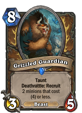 Grizzled Guardian Card Image