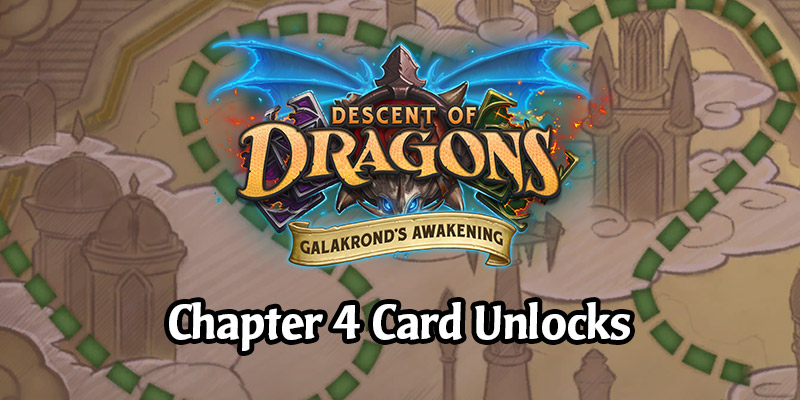 The Galakrond's Awakening Hearthstone Adventure Week 4 Cards - Showdown in Dalaran