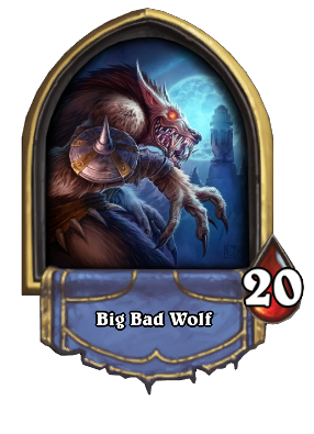 Big Bad Wolf Card Image