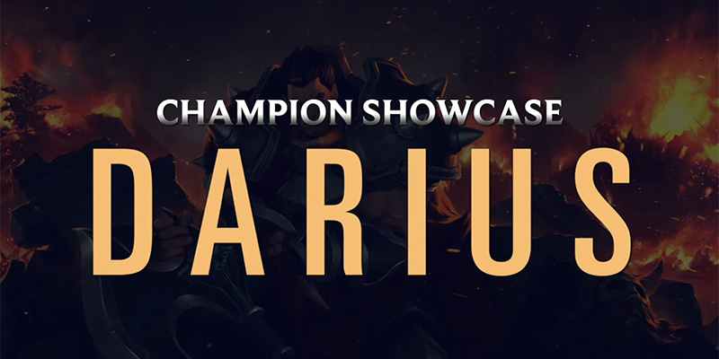 Legends of Runeterra - New Video for the Noxus Champion Showcase Featuring Darius