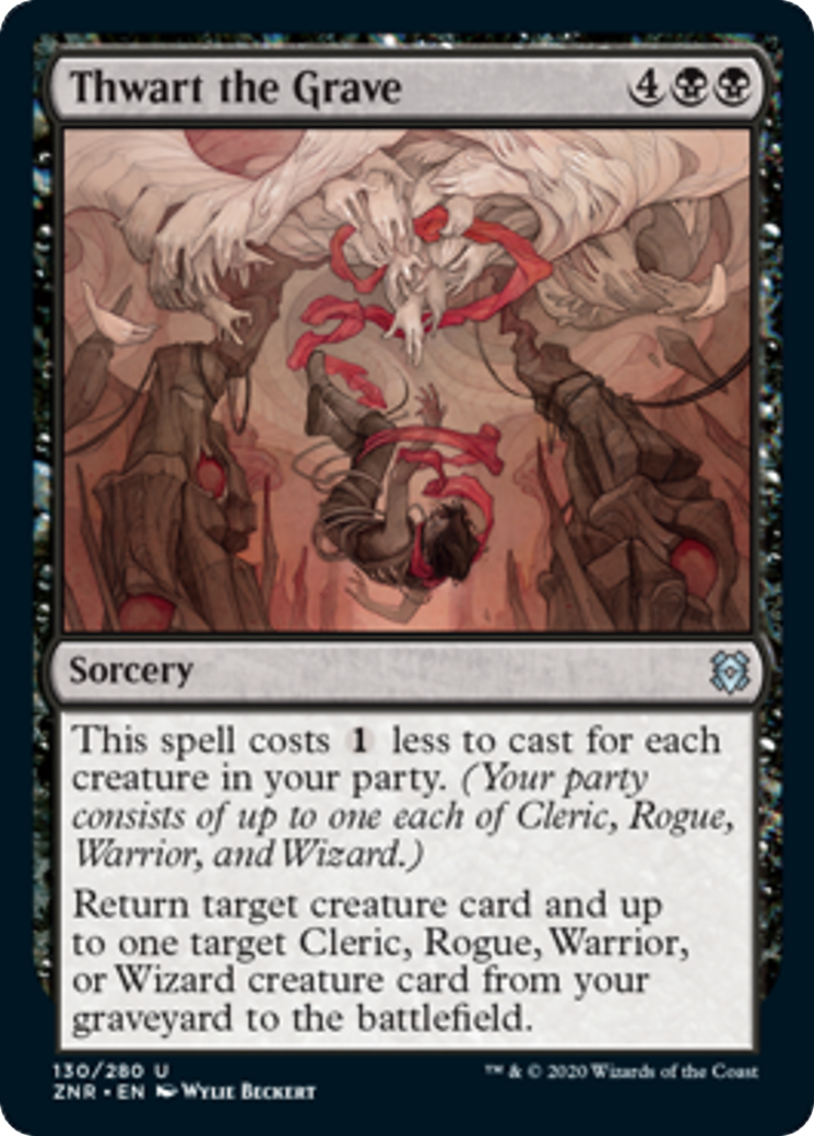 Thwart the Grave Card Image