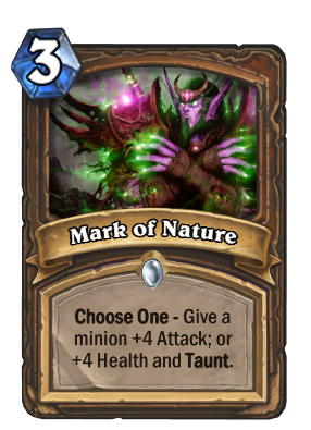 Mark of Nature Card Image