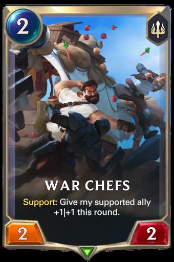 War Chefs Card Image