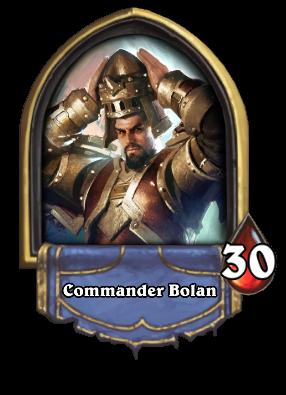 Commander Bolan Card Image
