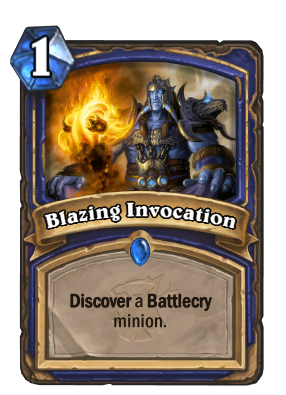 Blazing Invocation Card Image