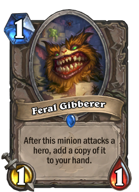 Feral Gibberer Card Image