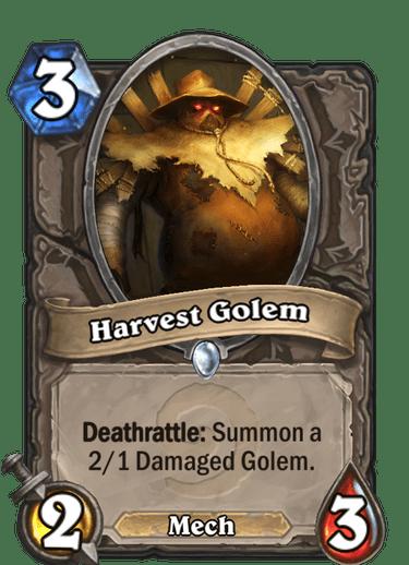 (3) Harvest Golem