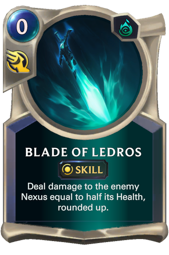 Blade of Ledros Card Image