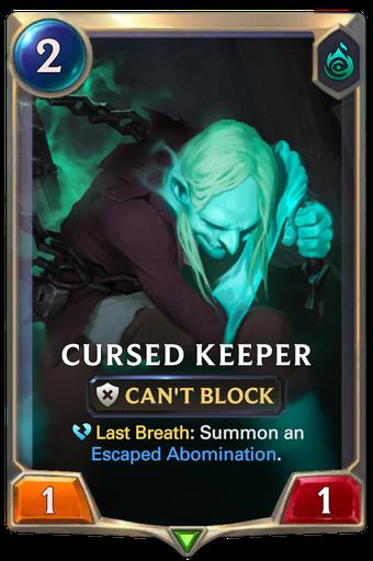 Cursed Keeper Card Image