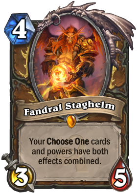 Fandral Staghelm Card Image