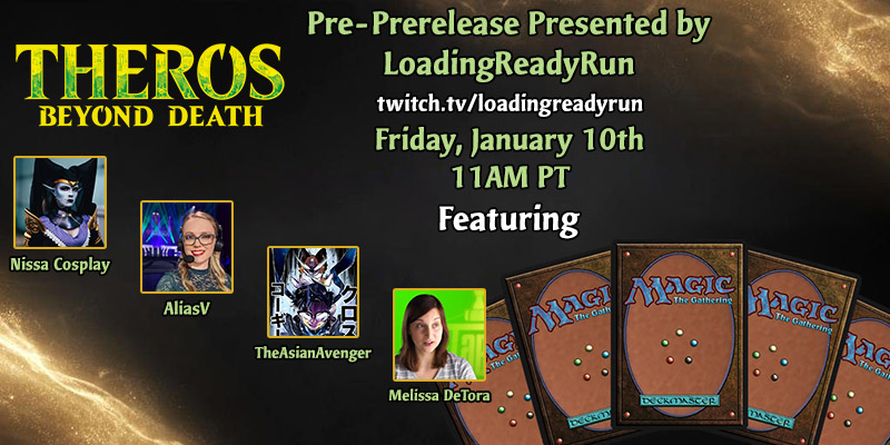 MTG Arena - Theros: Beyond Death Pre-Prerelease Stream on Friday