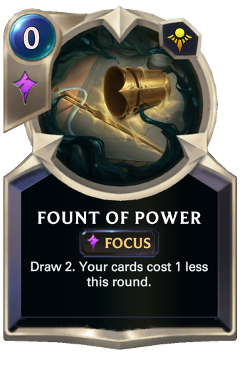Fount of Power Card Image