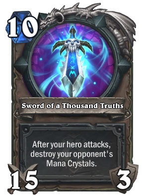 Sword of a Thousand Truths Card Image