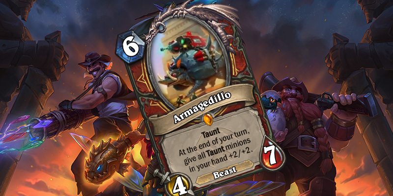 Uldum Warrior Legendary Card Reveal - Armagedillo