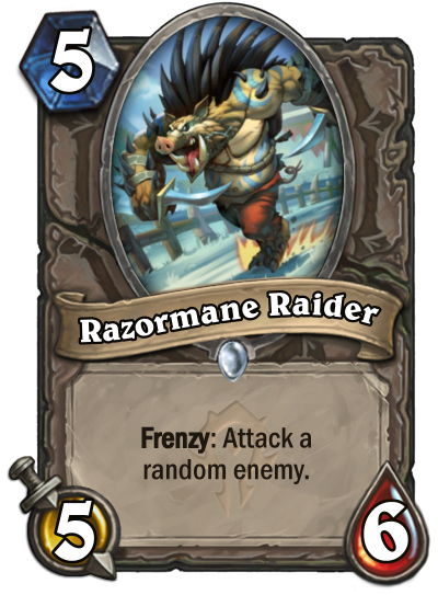 Razormane Raider Card Image