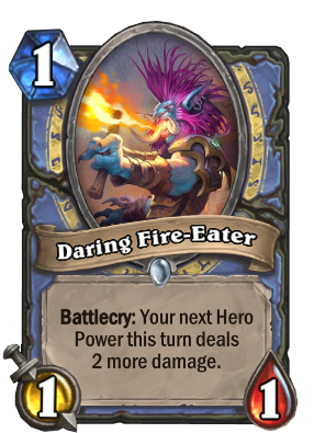 Daring Fire-Eater Card Image