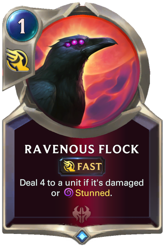 Ravenous Flock Card Image