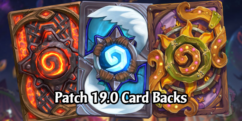 The 3 New Card Backs in Hearthstone's Darkmoon Faire Patch 19.0