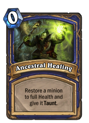 Ancestral Healing Card Image