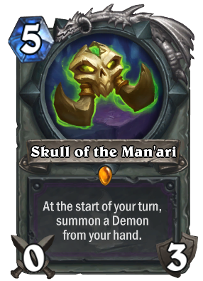 Skull of the Man'ari Card Image