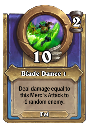 Blade Dance 1 Card Image