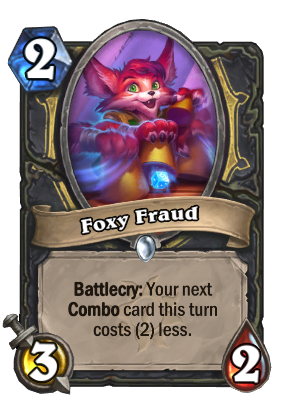 Foxy Fraud Card Image