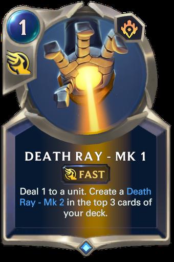 Death Ray - Mk 1 Card Image