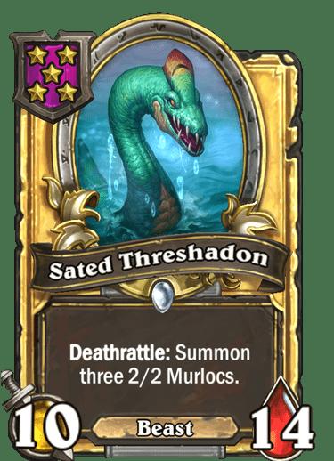 Sated Threshadon Card Image