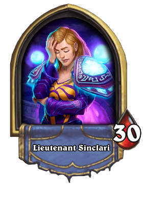 Lieutenant Sinclari Card Image