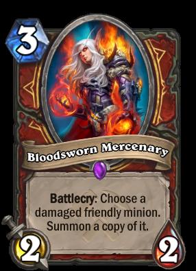 Bloodsworn Mercenary Card Image
