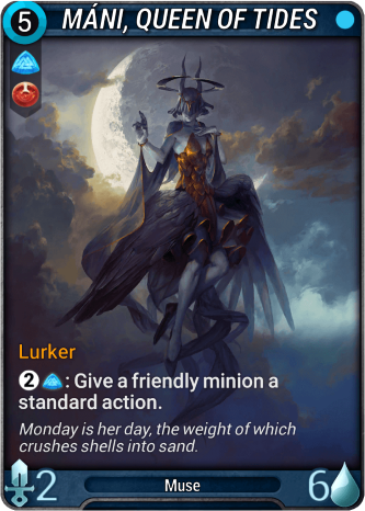 Máni, Queen of Tides Card Image