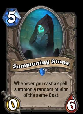 Summoning Stone Card Image