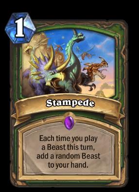 Stampede Card Image