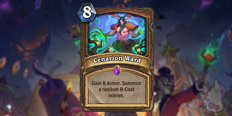 Cenarion Ward is a New Druid Card Revealed for Hearthstone's Darkmoon Faire Expansion