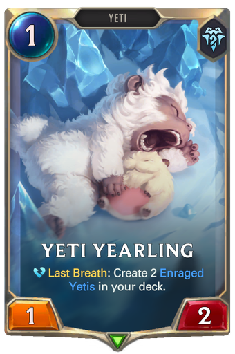 Yeti Yearling Card Image