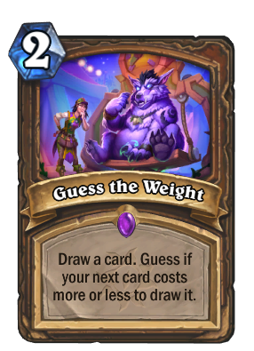 Guess the Weight Card Image