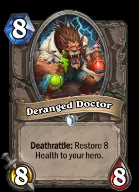 Deranged Doctor Card Image