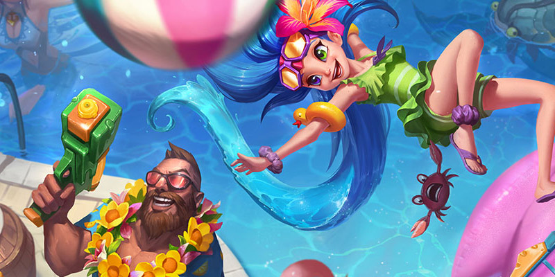 Pool Party Skins, Major Balance Changes, and the Ruination Event are Coming To Runeterra Soon