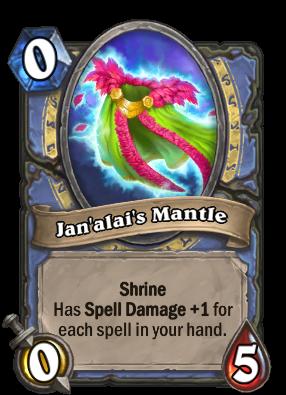 Jan'alai's Mantle Card Image