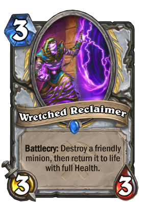 Wretched Reclaimer Card Image