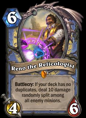 Reno the Relicologist Card Image