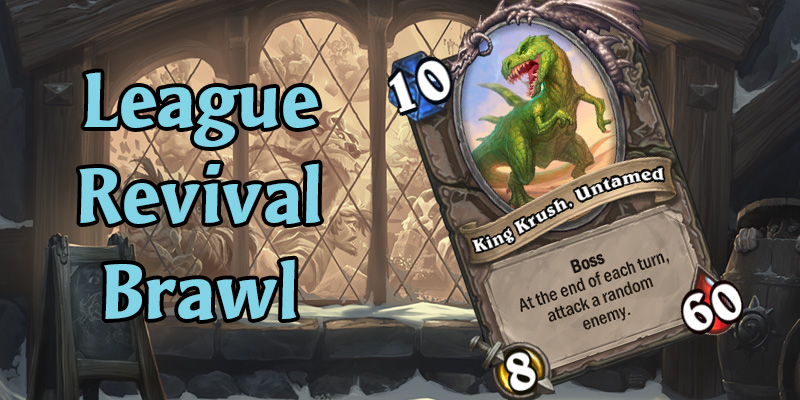 Early Preview of The League Revival Tavern Brawl - Bosses, Hero Powers, Card Bundles