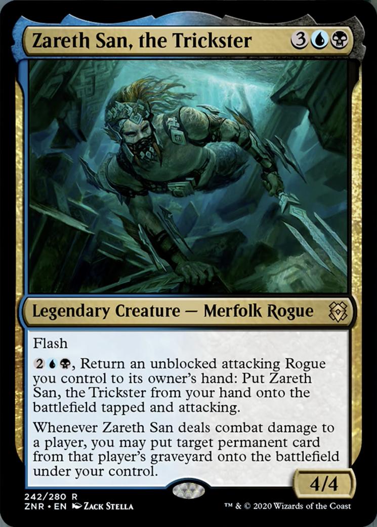 Zareth San, the Trickster Card Image
