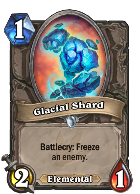Glacial Shard Card Image