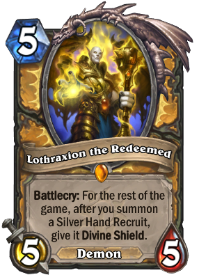 Lothraxion the Redeemed Card Image