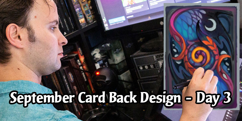 The Last Faerie Dragon Card Back Design Stream is Today